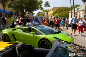 lamborghinis-in-naples-florida-show