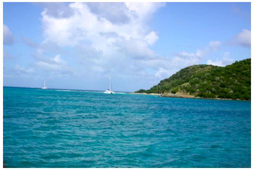 Beautiful British Virgin Islands
