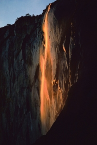 Firefall at Yosemite